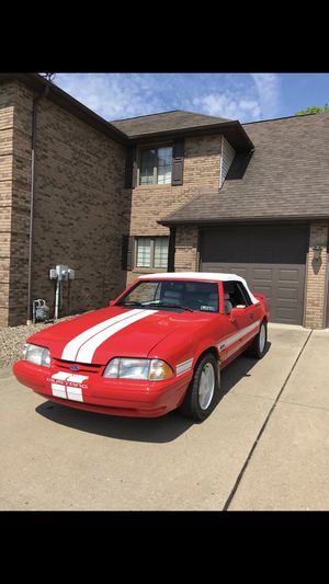 92 Mustang LX 5.0 convertible for Sale in Beaver Falls, PA