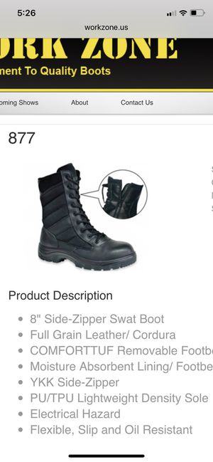 Work Zone Boots for Sale in Davie, FL