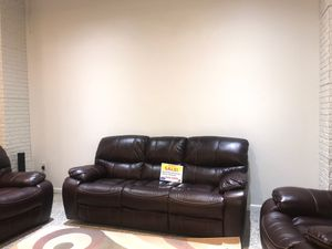 BIG SALE!! MADRID SOFA, LOVESEAT and CHAIR (BROWN/GRSAME DAY DELIVERY) (FINANCING AVAILABLE) for Sale in Clearwater, FL