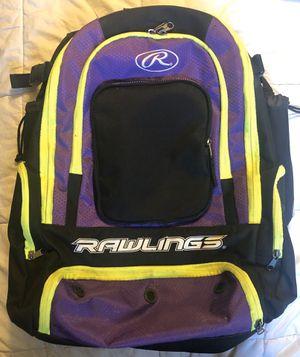 Rawlings Baseball / Softball Backpack for Sale in Hacienda Heights, CA