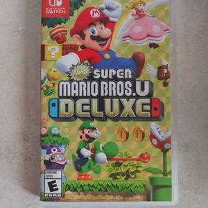 Supre Mario Deluxe U-Nintendo Switch for Sale in Redmond, OR