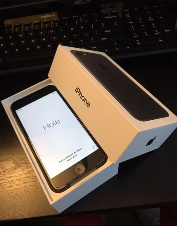PAYPAL/SHIP ONLY!! (Apple iPhone 7 128GB Matte Black (Unlocked) BRAND NEW!!)