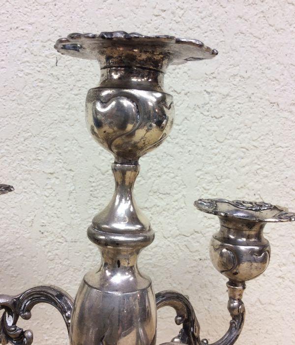Antique Candelabra for 5 candles