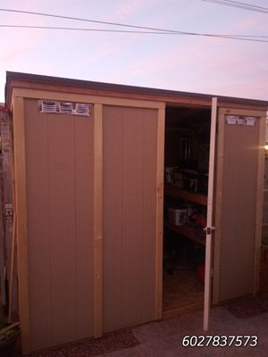 Shed storage 4x8ft by 7ft tall for Sale in Glendale, AZ