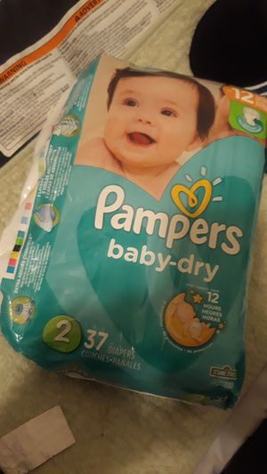 Pampers 37 diapers for Sale in Tacoma, WA