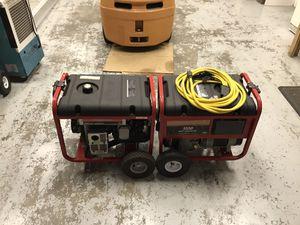 2) Troy Built 8550 watt generators for Sale in Land O Lakes, FL