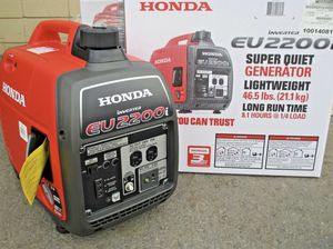 New Honda eu2200i Generator for Sale in Federal Way, WA