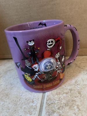 Disney Haunted Mansion Holiday Tim Burton Nightmare Before Christmas Disneyland 2003 Mug Cup for Sale in Davenport, FL