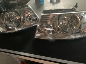 Ford F-150 Headlights and grill for Sale in Sanger, CA