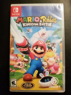 Brand New Factory Sealed Mario + Rabbids Kingdom Battle - $40 for Sale in Glendale, AZ
