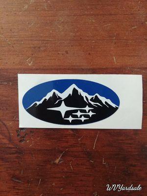 Subaru steering wheel emblem overlay for Sale in Morgantown, WV