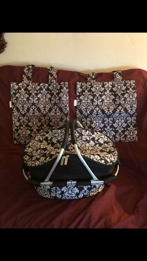 SACHII INSULATED CARRY TOTE WITH MATCHING BAGS NEW for Sale in Hayward, CA