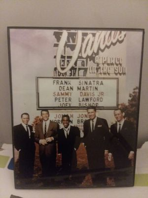"""Framed """"Rat Pack"""" Poster for Sale in Columbia, MO"""