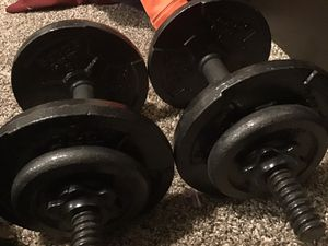 30 pound weights moving and must sell ASAP for Sale in Denver, CO
