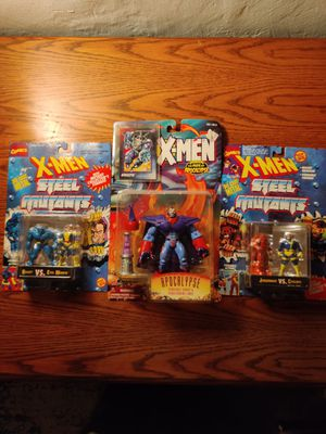 X men action figures still in box for Sale in Seattle, WA
