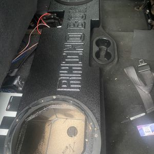 Dodge Ram Speaker Box For 2 12s for Sale in Houston, TX