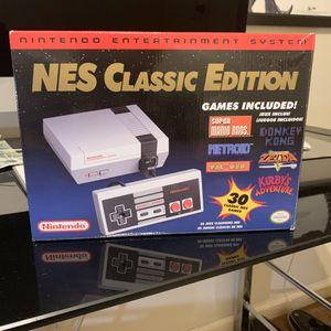 NES Classic w/extra games for Sale in Prattville, AL
