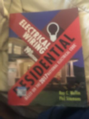 Electrical wiring 19th edition residential for Sale in Silver Spring, MD