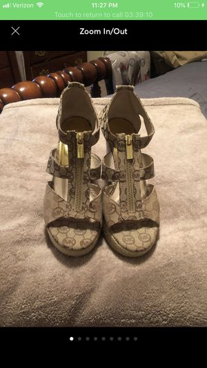 Size 9 Michael Kors wedges for Sale in Raleigh, NC