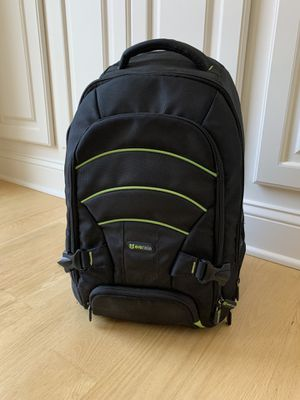 Evecase Laptop/DSLR Camera/DSLR Backpack with Rain Cover for Sale in Southbury, CT