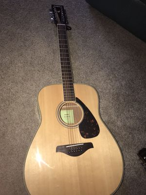 Yamaha 12 string guitar for Sale in Vancouver, WA