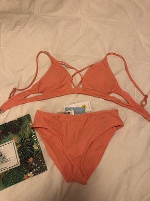 Cupshe Coral Bikini New With Tags for Sale in Washington, DC