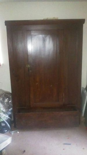 Antique Old possible late 1800's. Armoire family Heirloom for Sale in Jonesboro, GA