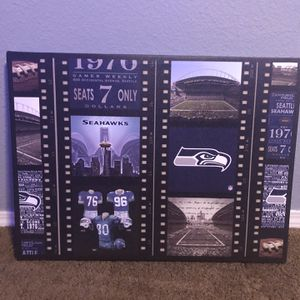 Seahawks Decor Bundle (4 Items) for Sale in Vancouver, WA