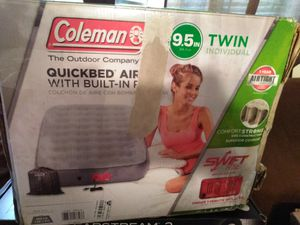 Coleman twin airbed for Sale in Tallahassee, FL