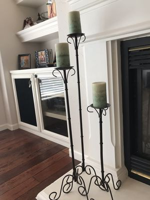 Candle holders for Sale in Visalia, CA