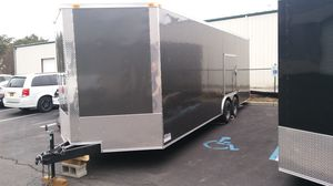 TRAILERS VNOSE ALUMINUM ENCLOSED 20' 24' 28' 32' for Sale in New York, NY