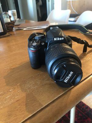 DSL Nikon D3100 for Sale in Seattle, WA