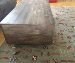 Rustic oak coffee table for Sale for sale  New York, NY
