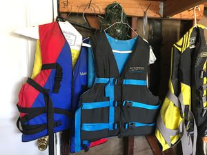 Wave runners life jackets for men and women for Sale in Buena Park, CA