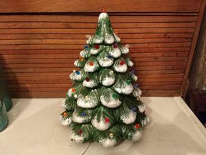 Ceramic Christmas tree no base for Sale in Inwood, WV