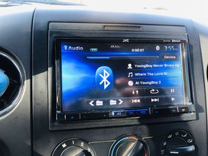 Jvc stereo double din navigation Bluetooth for Sale in Glendale, AZ
