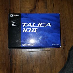 Shimano TALICA 10II for Sale in Claremont, CA