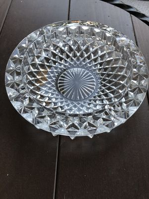 Vintage heavyweight glass ashtray for Sale in Escondido, CA