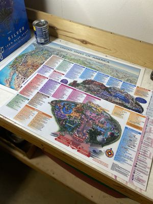 Laminated maps for Sale in Anaheim, CA
