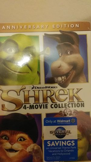 Shrek 4-movie collection for Sale in Laveen Village, AZ