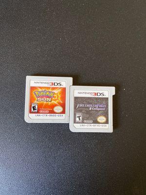 Pokemon sun fire emblem fates conquest for Sale in Nashville, TN