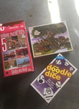Puzzles and game for Sale in Bedford, TX