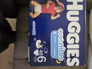 Huggies Overnights size 6 2 Boxes Available for Sale in Clarksboro, NJ