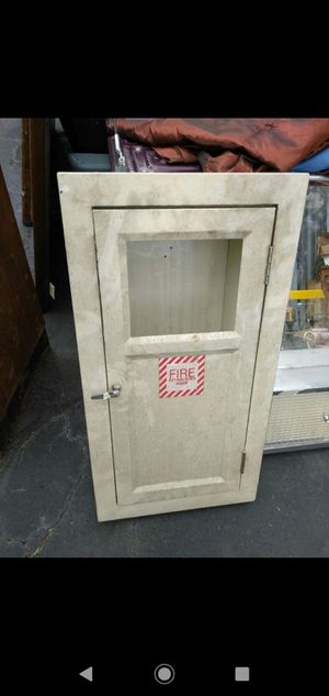 !!! Vintage fire extinguisher case with glass needs cleaned !!! for Sale in Wichita, KS