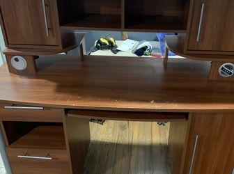 Desk And Adjustable Hutch for Sale in Auburn,  WA