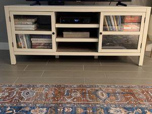 White/Cream TV Console for Sale in Dallas, TX
