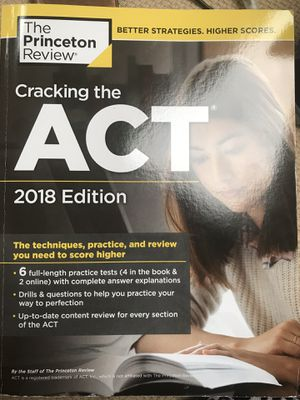 ACT Prep books for Sale in Naperville, IL