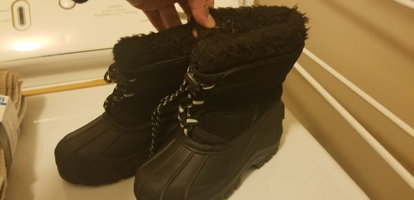 Weatherproof size 13 kids snow boots