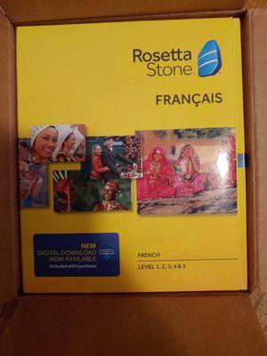 Rosetta Stone French Level 1-5 for Sale in Southgate, MI