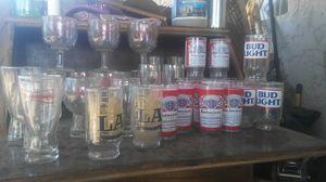Vintage beer glasses for Sale in Laveen Village, AZ